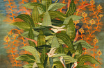 #3.12- Green Leaves and Birds, 2012- 0.85 x 1.15 m. Reda Ahmed.jpg