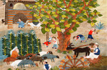 #4.12- Mulberry Tree in the Fields. 2012- 1.18 x 0.82 m. Sayed Mahmoud.jpg