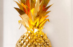 Gold Paper Pineapple