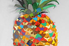 Colour Paper Pineapple