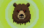 Decapitated Bear Head Is Watching You