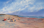 MONTEOLIVETO GALLERY Gerry DEFRIES Early Morning on Waxham Beach.jpg