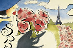 Roses (Spring in Paris)