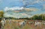 LRes.oilonboard. Sheep by Dacre Castle.jpg