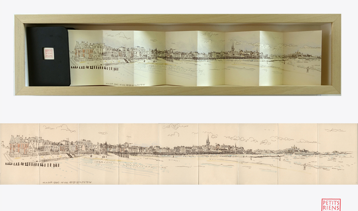 The Little Things of Saint-Malo. Sillon's Beach Sight (Panoramas Series)