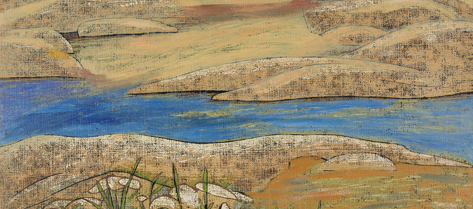 "Katrine Levin Galleries presents / ""Reflections in a Blue Lake: the woodblock prints of Chen Li"""