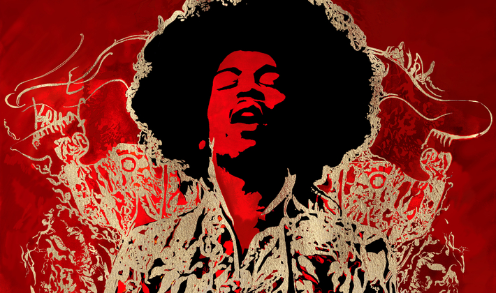 Jimi Hendrix: Red