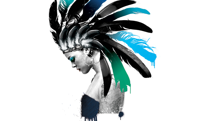 Feather Mohawk