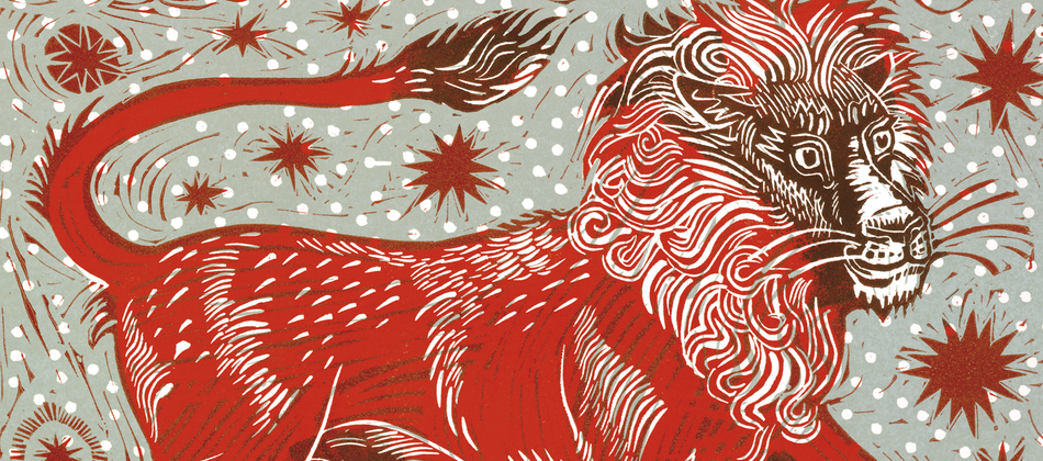 ... Mark Hearld 'Red Lion' ...